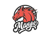 Манул ( Manul). Logo