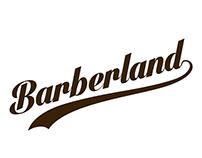 Logo for Barberland mobile app