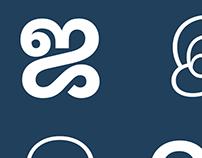 Ek Tamil - 7 weight font matching with Latin