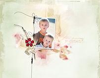 Pages d'albums photos
