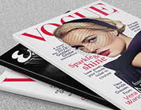VOGUE & ESQUIRE Magazine Cover Design