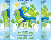 Mother Earth Day Flyer - Seasonal A5 Template