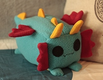 Dragon Loaf Plush