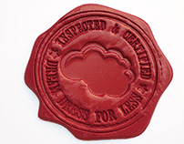3D Wax Stamp Logo