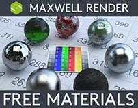 Maxwell Render Materials