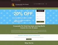 Wordpress Design: Pet Hotel