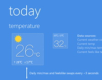 WeatherFlow for Windows Phone redesign