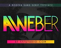 Free Font - Aweber