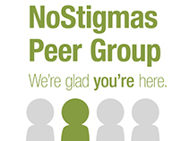 NoStigmas Peer Support Group Branding