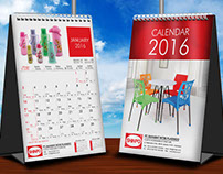Shinpo desk calendar 2016
