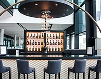 Champagne Bar for Laurent Perrier at Wembley