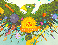 EZO FESTIVAL POSTERS