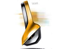 Product Sketches - 2 `Brand` Headphones Series