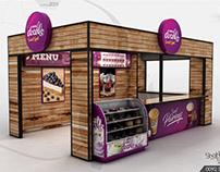 Nestle Docello Sweets Shop Design