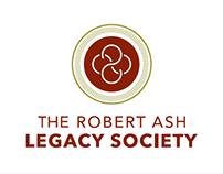Robert Ash Legacy Society Logo Concepts