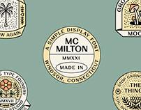 MC Milton - Font