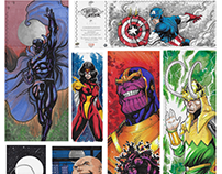 UpperDeck - Marvel Sketch Cards