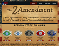 2nd Amendment Belt Buckles