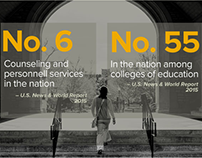 Power the Knowledge – Mizzou College of Ed site design