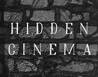 Hidden Cinema - Free Font