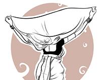 Illustration Girl Lavani