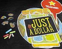 #JustADollar Creative Branding