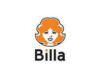 Billa - Redesign de marca