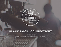 Source Coffeehouse Branding