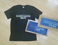 CHULA-MHMK Exchange Program T-shirt Design