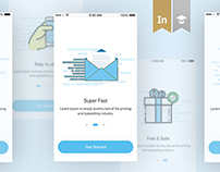 Messaging App IOS design Concept