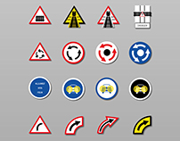 Alternative road signs