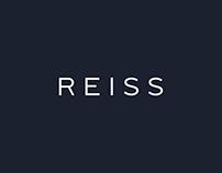 Reiss Website Re-Design Concept