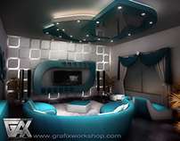 TV lounge design