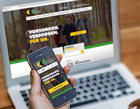 Responsive Webdesign: muncipal healthcare association