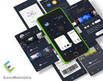 Events Mobile App - Sketch File