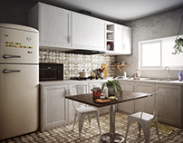 Kitchen: Simplistic Abundance