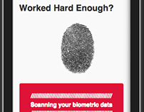 This App reads your biometrics and gives a break or not