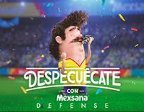 Mexsana Defense - Fútbol - BAYER