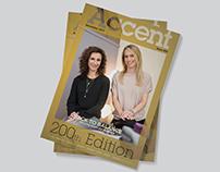 Editorial Design: Accent Magazine Issue 200