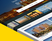Booking website project