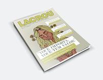 capa de revista // LACROU
