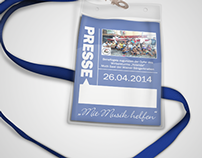 Press Pass | Presseausweis
