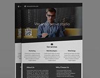 Creative Studio Corporate Premium Flyer Template