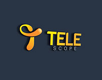 Tele Scope Logo Design