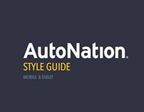 Autonation Style Guide - Mobile & Tablet