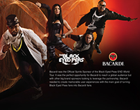 Black Eyed Peas END World Tour with Bacardi