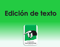 Edición de texto: Ser Voluntario en Vida Silvestre