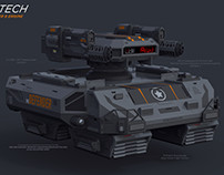 ASHTECH - The Defender Hover Tank