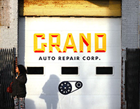 Grand Auto Repair Corp. Identity System