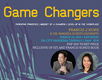 Game Changers Event Branding Design